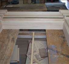 Mantel Projects 2005-A Mantels constructed late 2004 and early 2005.