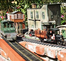 Steeple Cab Loco No. 100 & Rail Truck
