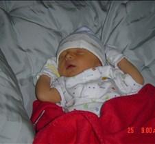 Peyton's First Week 009