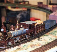 Rick Parker's 2-6-0 Mogul Steam Loco