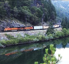 UP-5117 Southbound Above Feather River