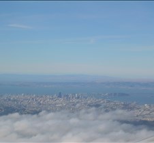 San Francisco under the Fog (Wide angle)