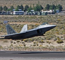 F-22 Raptor Demonstration, Take off