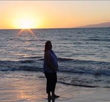 Pregnant Mommy on the Beach