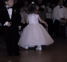 Caitlin and Conner dancing