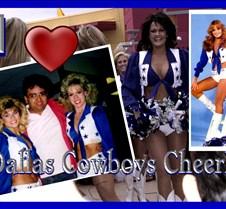 Dallas Cheerleaders  Cover With Suzette