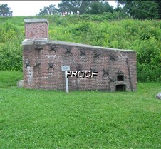 The hot sho furnace at Ft. Knox