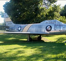 F-86 Sabre 1st US Swept Wing Jet