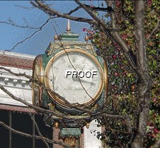 Cranford Clock