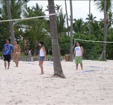 Beach volleyball, again??