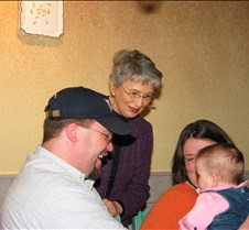 February 26, 2005 Uncle Ivan's Birthday at the Olive Garden in OKC with family...