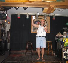 Mike from Captain Quint doing kareoke