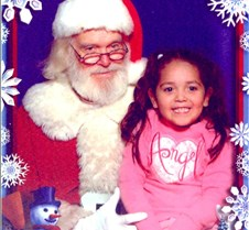 Angel with Santa 2005