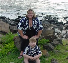 Grant and Auntie Karen