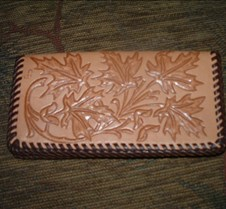 Maple leaf Checkbook cover