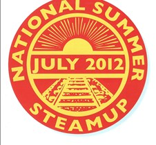2012 National Summer Steamup Cover