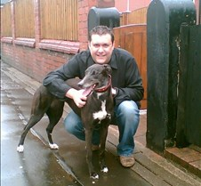 Millie Little Mille goes to live with her new friend Molly the whippet in Salford