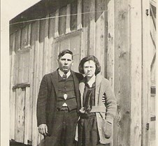 Lee and Urma Edwards 1st home 1921