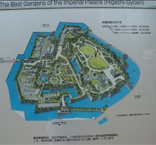 Map of Imperial palace