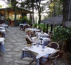 Dinner at Castello di Brolio, Tuscany