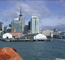 Leaving the Auckland Ferry Terminal