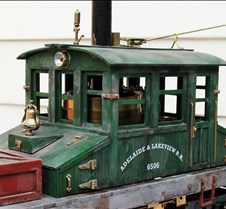 Steeple Cab Loco #100, at Diamondhead