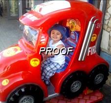 Niño en el carrito