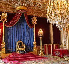 Chateau de Fontainebleau Throne Room