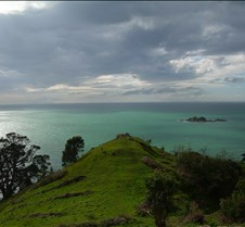 Looking out into the Hauraki Gulf