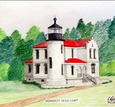 Colored Pencil Drawings Original colored pencil drawings of interesting North American lighthouses.