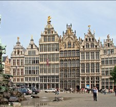 Town Square Houses in Antwerp Belgium