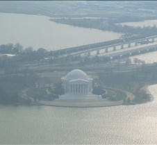 Jefferson Memorial from Monument