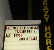 2005-06-25 Bootie Quake @ Irvine Crazy Horse Yes, it was a bittersweet night at the Crazy Horse which was closing down due to a change in policy by the Irvine Spectrum.  These are pictures from the first two Bootie Quake sets, which were a fun mix of disco and 80's music.