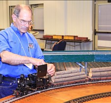 Bob Trabucco With His Climax Loco