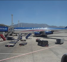 LAN 622 - A340 on Ramp in SCL