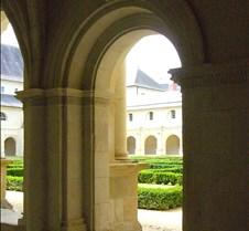 Abbaye le Fontevraud - Cloister