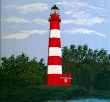 Landscape Paintings featuring Lighthouses Original paintings of North American Lighthouses and their scenic settings.