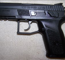 CZ 75 P-07 My latest 9mm handgun.