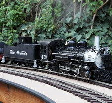 Raul Barrile's Accucraft K-28 Live Steam
