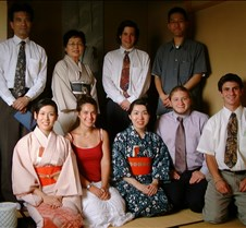 Tea ceremony staff