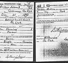 Draft Registration Cards