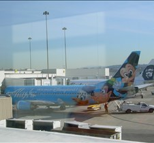 Alaska Disney Plane