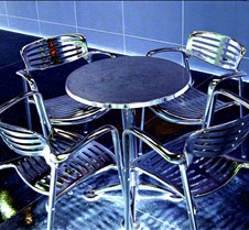 Metallic Chairs