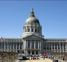 Downtown San Francisco City Hall