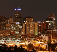 Denver Skyline Midnight
