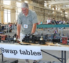 Curtis Hoffman Checks Out The Swap Table