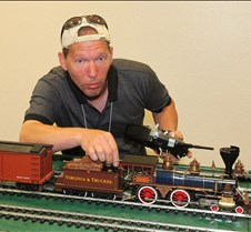 "Lon Brunken And His ""Reno"" American Loco"