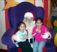 Lexi and Diane with Santa 20051