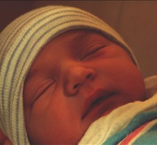 Nicholas James, My Cousin Born on 9/30/03