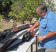 John Polen & His Live Steam Aster Mikado
